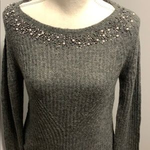Women's Ann Taylor NWT Grey Sweater Medium